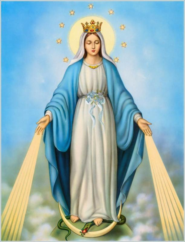 A Gift of Love and Light with Mother Mary from Healing With Joy
